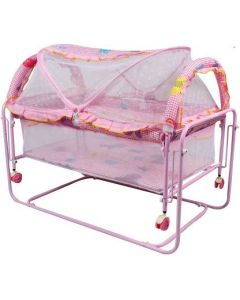 Baybee Cocoon Swing Cradle | Lightweight and Transportable  (Pink)