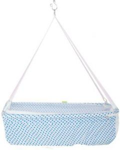 Baybee Hanging Cradle for new born Baby  (Blue)