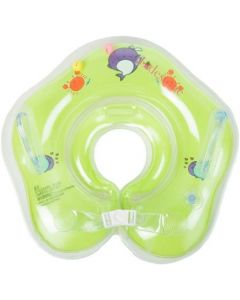 P s retail Swimming Neck Float Ring for Baby (Green) Bath Toy  (Green)